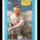 BOSTON RED SOX LEFTY GROVE 1972 KELLOGG'S ALL TIME GREATS # 7 EM