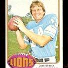 DETROIT LIONS BILL MUNSON 1976 TOPPS # 404 EX/EM