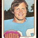 DETROIT LIONS BOB KOWALKOWSKI 1976 TOPPS # 197 EX