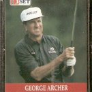 GEORGE ARCHER 1990 PRO SET PGA TOUR CARD # 85