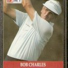 BOB CHARLES 1990 PRO SET PGA TOUR CARD # 88
