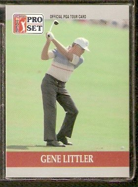 GENE LITTLER 1990 PRO SET PGA TOUR CARD # 91