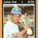 CHICAGO WHITE SOX CARLOS MAY 1971 TOPPS # 243 VG