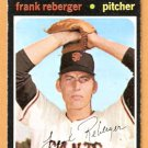 SAN FRANCISCO GIANTS FRANK REBERGER 1971 TOPPS # 251 EX/EM
