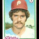PHILADELPHIA PHILLIES WARREN BRUSSTAR 1978 TOPPS # 297 EX/EM