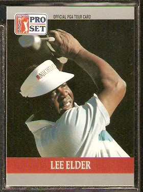 LEE ELDER 1990 PRO SET PGA TOUR CARD # 98