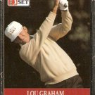 LOU GRAHAM 1990 PRO SET PGA TOUR CARD # 100