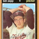 MINNESOTA TWINS BILL ZEPP 1971 TOPPS # 271 VG/EX