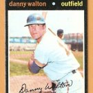MILWAUKEE BREWERS DANNY WALTON 1971 TOPPS # 281 good