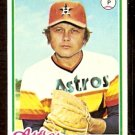 HOUSTON ASTROS JOE NIEKRO 1978 TOPPS # 306 VG/EX