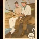 1959 FLEER TED WILLIAMS # 67 TWO FAMOUS FISHERMEN SAM SNEAD good BOSTON RED SOX