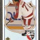 BOSTON BRUINS PHIL ESPOSITO 1990 UPPER DECK HEROES # 510