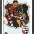 CHICAGO BLACKHAWKS ERIC NESTERENKO 1990 UPPER DECK HEROES # 503