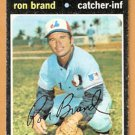 MONTREAL EXPOS RON BRAND 1971 TOPPS # 304 G/VG
