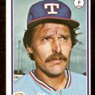 TEXAS RANGERS PAUL LINDBLAD 1978 TOPPS # 314 EX