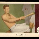 1959 FLEER TED WILLIAMS # 74 HERE'S HOW! EX MT OC BOSTON RED SOX