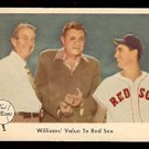 1959 FLEER TED WILLIAMS # 75 WILLIAMS VALUE TO RED SOX BABE RUTH BOSTON RED SOX NR MT