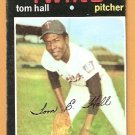 MINNESOTA TWINS TOM HALL 1971 TOPPS # 313 good