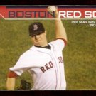 BOSTON RED SOX 2008 POCKET SCHEDULE JON LESTER