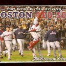 BOSTON RED SOX 2008 POCKET SCHEDULE THE CHAMPS CELEBRATE