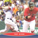 BOSTON RED SOX TROT NIXON 2006 PIN UP PHOTO