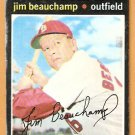 ST LOUIS CARDINALS JIM BEAUCHAMP 1971 TOPPS # 322 good