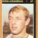 WASHINGTON SENATORS RICHIE SCHEINBLUM 1971 TOPPS # 326 EM/NM OC