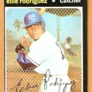 KANSAS CITY ROYALS ELLIE RODRIGUEZ 1971 TOPPS # 344 EM OC
