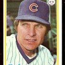 CHICAGO CUBS LARRY BIITTNER 1978 TOPPS # 346 EM