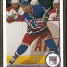 NEW YORK RANGERS RANDY MOLLER 1990 UPPER DECK # 418