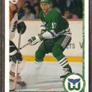 HARTFORD WHALERS TODD KRYGIER ROOKIE CARD RC 1990 UPPER DECK # 417