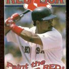 BOSTON RED SOX 2003 POCKET SCHEDULE MANNY RAMIREZ PAINT THE TOWN RED