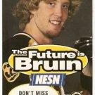 BOSTON BRUINS JOE THORNTON PHOTO 1997-98 SCHEDULE THE FUTURE IS BRUIN