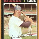 CLEVELAND INDIANS TED UHLAENDER 1971 TOPPS # 347 NM