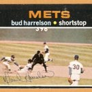 NEW YORK METS BUD HARRELSON 1971 TOPPS # 355