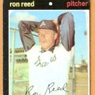 ATLANTA BRAVES RON REED 1971 TOPPS # 359 good