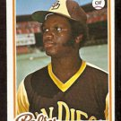 SAN DIEGO PADRES JERRY TURNER 1978 TOPPS # 364 EX