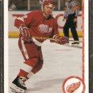 DETROIT RED WINGS BRAD McCRIMMON 1990 UPPER DECK # 430
