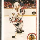CHICAGO BLACKHAWKS CHRIS CHELIOS 1990 UPPER DECK # 422