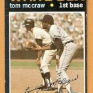 CHICAGO WHITE SOX TOM McCRAW 1971 TOPPS # 373 VG