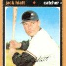 HOUSTON ASTROS JACK HIATT 1971 TOPPS # 371 VG