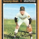 SAN DIEGO PADRES TOMMY DEAN 1971 TOPPS # 364 good