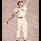 BOSTON RED SOX BILLY GOODMAN FIELDING POSE 1947 – 1966 EXHIBIT SUPPLY CARD