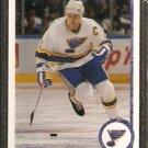 ST LOUIS BLUES SCOTT STEVENS 1990 UPPER DECK # 436