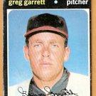 CINCINNATI REDS GREG GARRETT 1971 TOPPS # 377 good