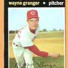 CINCINNATI REDS WAYNE GRANGER 1971 TOPPS # 379