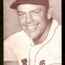 BOSTON RED SOX VERN STEPHENS 1947/66 EXHIBIT SUPPLY CARD