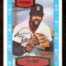 BOSTON RED SOX LUIS TIANT 1975 KELLOGG'S 3-D # 49 EM cracked