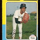 BOSTON RED SOX ROGELIO MORET 1975 O PEE CHEE OPC # 8 EX MT