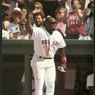 BOSTON RED SOX MO VAUGHN 1995 PINUP PHOTO